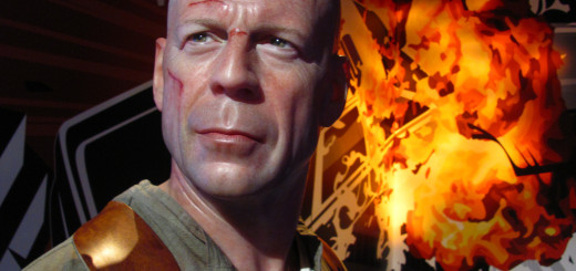 Loren Javier Picture of Bruce Willis in Die Hard