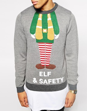 Elf and Safety Xmas jumper