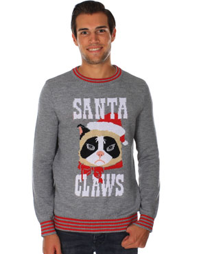 Santa Claws Xmas jumper