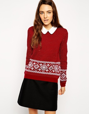 Red Christmas Jumper from ASOS