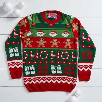 Santa's Workshop xmas jumper