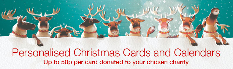 BBC Children in Need Charity Christmas Cards Banner