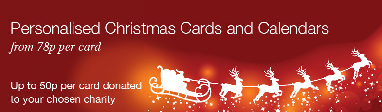 British Heart Foundation Charity Christmas Cards 2014 Banner