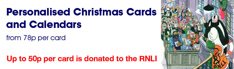 RNLI Charity Christmas Cards 2014 Banner