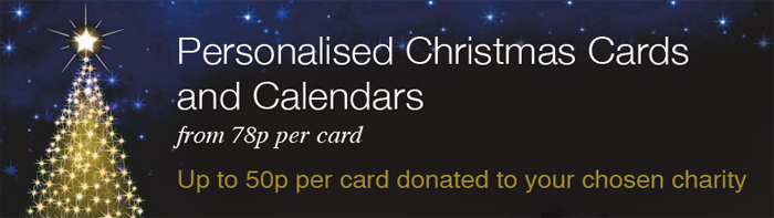 Macmillan Charity Christmas Cards 2014 Banner