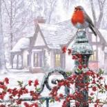Robin on a Gatepost