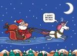 Santa & Unicorn