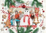 Christmas Illustration <br>Photo Upload