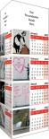 Banksy Folding Desk Calendar
