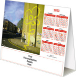 Bansky<br>Folding Desk Calendar